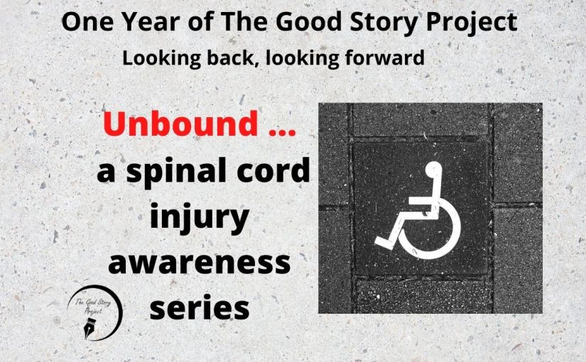 Include us  … that's all people with spinal cord injuries are askingfor